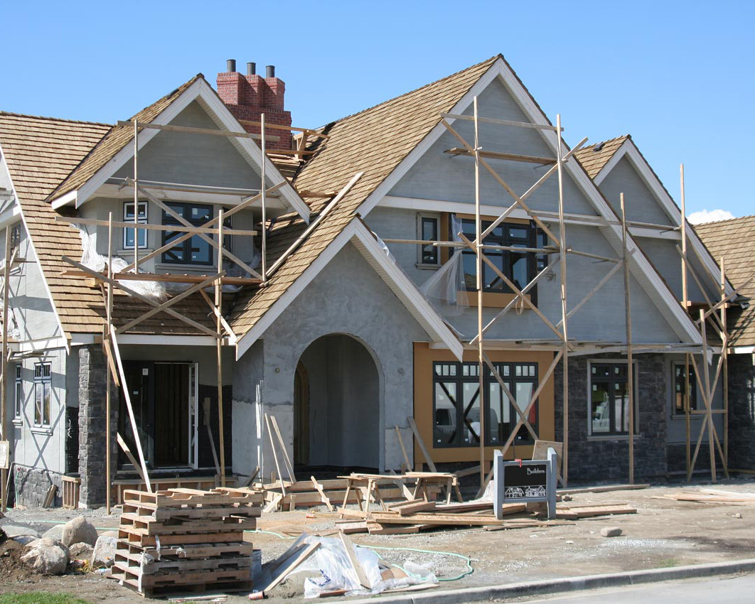 Exterior house construction